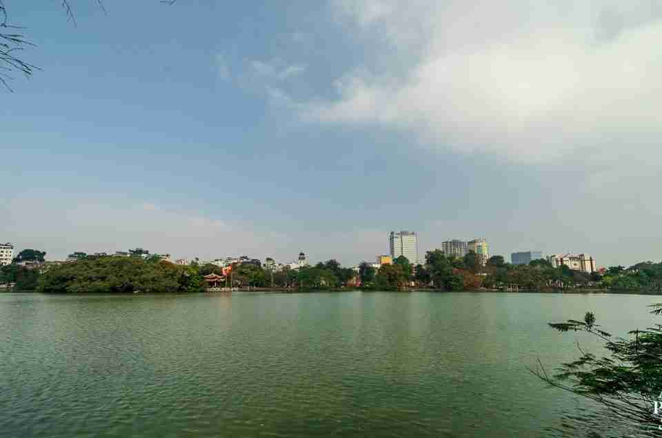 Saturdays at Hanoi's Hoàn Kiếm Lake