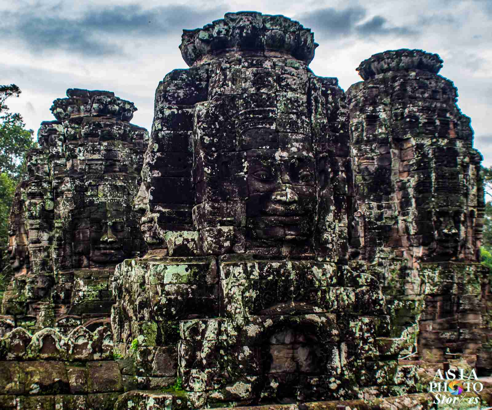 Faces of Bayon