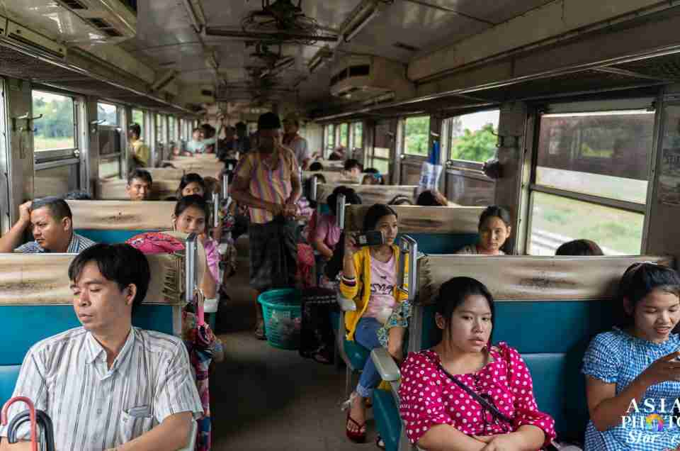 Life Speeding Up Along Yangon's Slow Circular Train Line