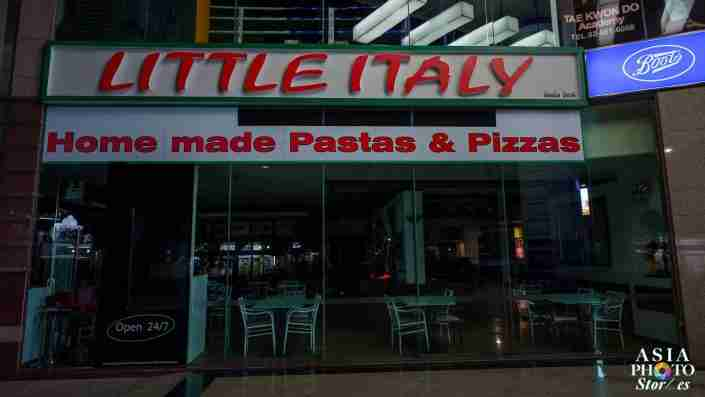 Little Italy, a pizza parlor in the Soi Cowboy red light district that never closes, closed down in March as the government ratcheted up social restrictions to combat the coronavirus.
